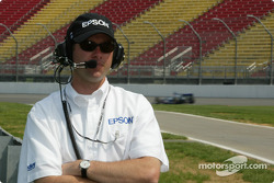 Team owner Buzz Calkins