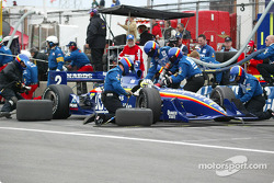 Pitstop for Jaques Lazier