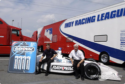 Blair Racing unveils Rayovac car design