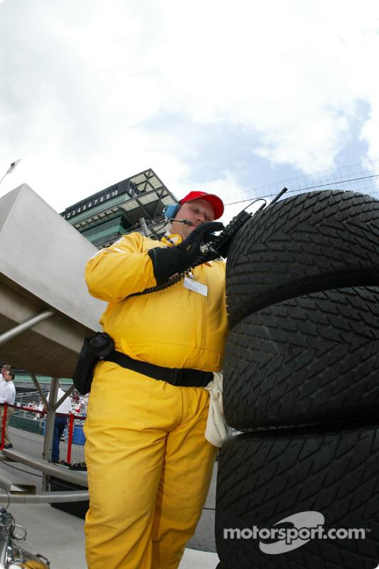 Firestone Firehawk tire engineer