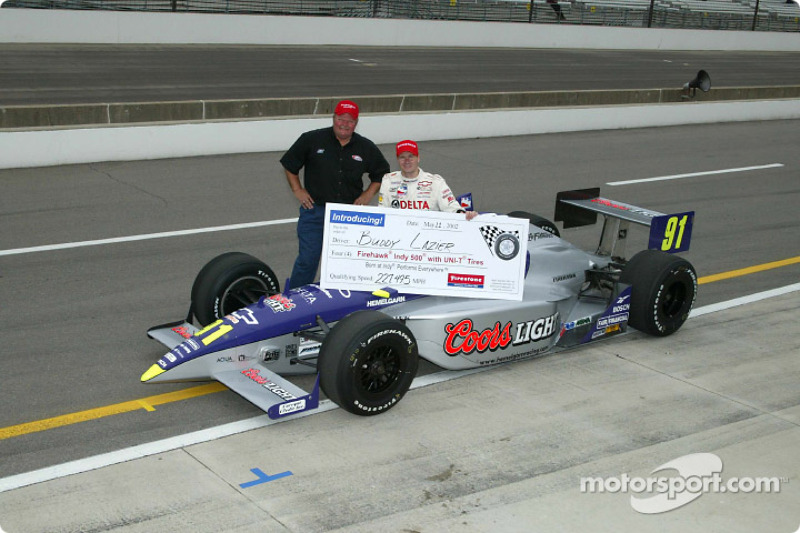 Buddy Lazier and Ron Hemelgarn