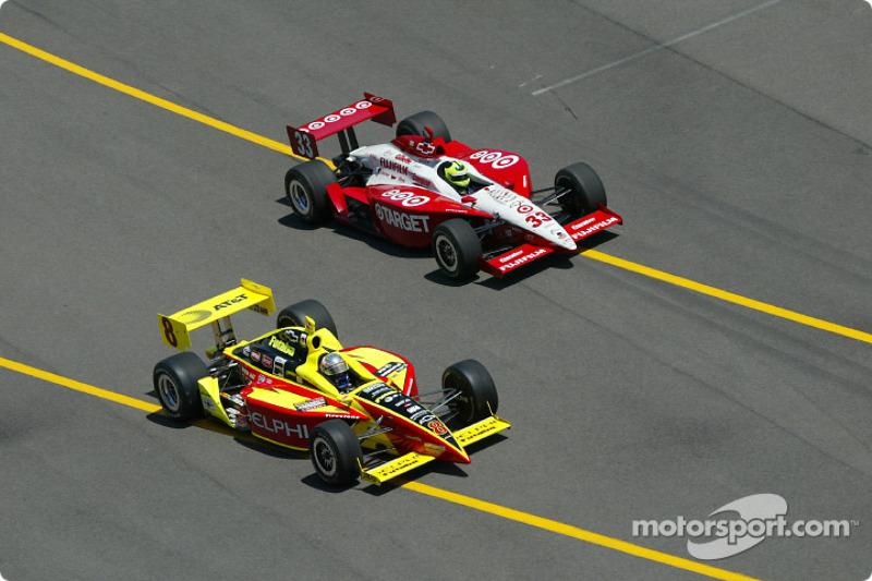 Scott Sharp and Bruno Junqueira