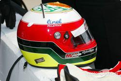Max Papis' helmet