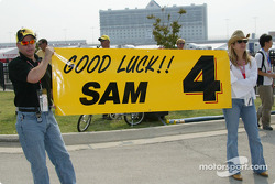 Sam Hornish Jr.'s fan club