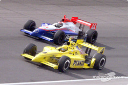 Sam Hornish and Alex Barron