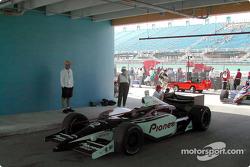Mo Nunn Racing car