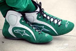 Tony Kanaan's shoes