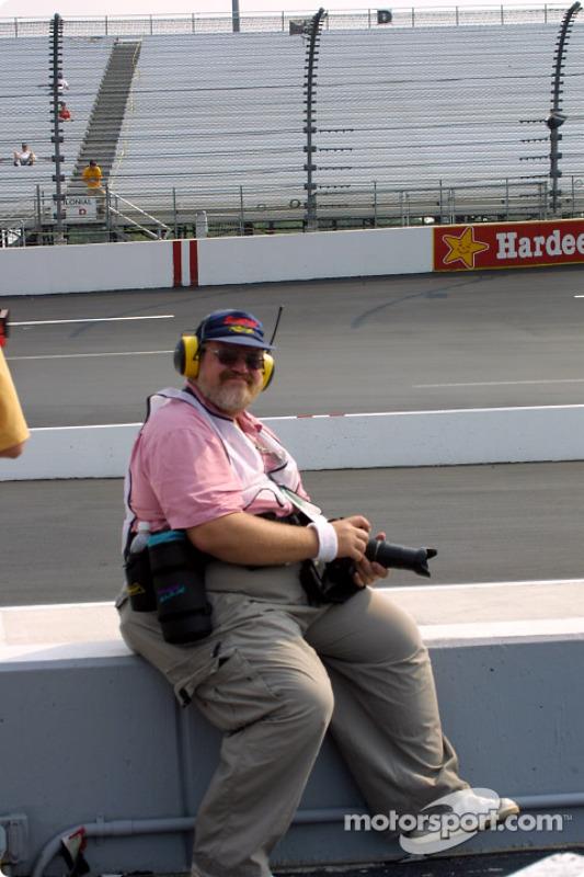 Journaliste photo de Motorsport.com Greg Gage