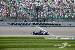 Bryan Herta takes the checkered flag