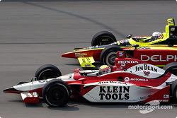 Dan Wheldon and Scott Sharp