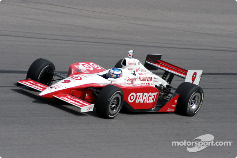 2003 IRL: Scott Dixon, Chip Ganassi Racing, G-Force-Toyota