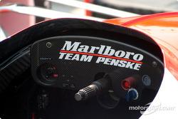 Cockpit of the Marlboro Team Penske Dallara Toyota