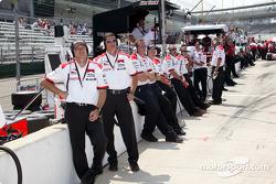 Team Penske crew members