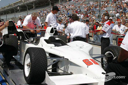 Penske #66 is adjusted to meet IRL specifications