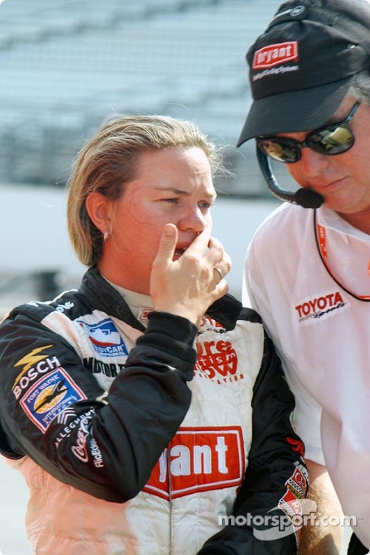 Sarah Fisher et Mark Weida