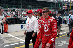 Chip Ganassi, Darren Manning and Scott Dixon