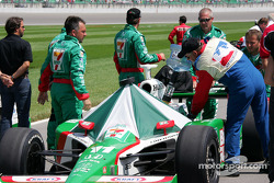 Andretti Green Racing crew members