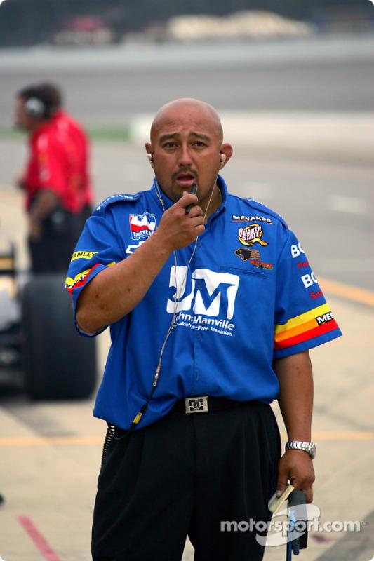 Carlos Fernandes, membre de Panther Racing