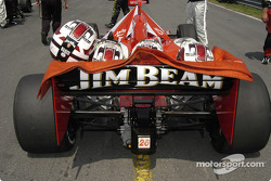 This is what the rest saw of the #26 Dan Wheldon at the finish