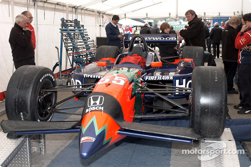 Technical inspection for Mo Nunn Racing