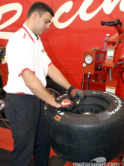 Visit at Firestone garage