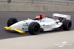 Johnny Herbert teste une voiture du Dale Coyne Racing