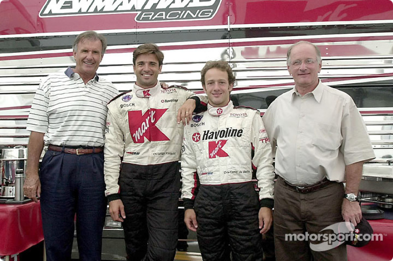 Fathers and sons: Wilson Fittipaldi, Christian Fittipaldi, Cristiano da Matta and Antonio da Matta