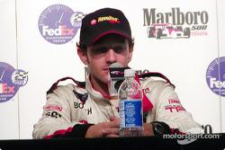 Press conference: race winner Cristiano da Matta