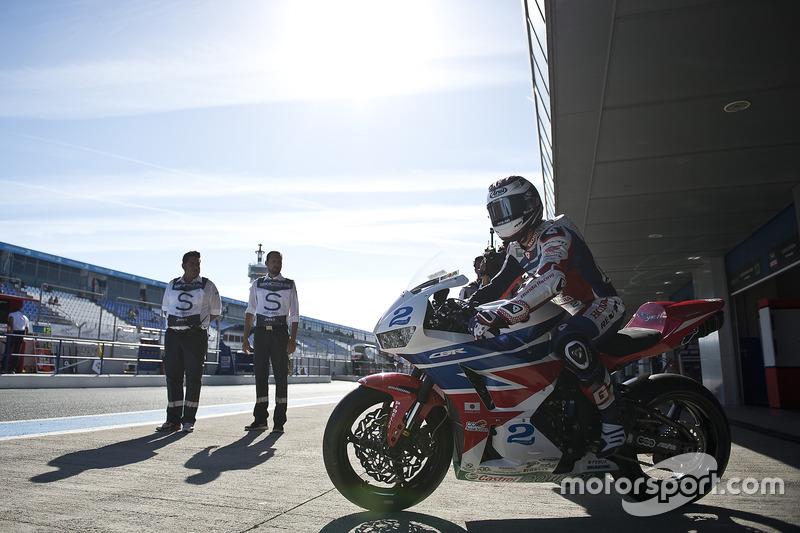 Patrick Jacobsen, Honda World Supersport Team