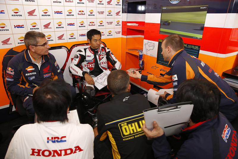 Aoyama remplace Pedrosa pour le reste du Grand Prix