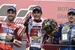Марк Маркес, Repsol Honda Team, Андреа Довициозо, Ducati Team, Маверик Виньялес, Team Suzuki Ecstar MotoGP