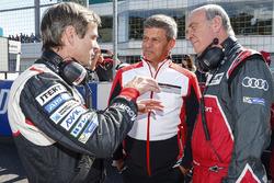 Pascal Vasselon, Toyota Racing technical director, Fritz Enzinger, Vice President LMP1, Porsche Team, Dr. Wolfgang Ullrich, Head of Audi Sport