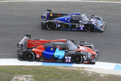 #24 Oak Racing Ligier JSP3 - Nissan: Jacques Nicolet, Pierre Nicolet; #6 360 Racing Ligier JSP3 - Nissan: Terrence Woodward, Ross Kaiser, James Swift