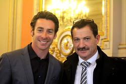 Simon Pagenaud mit seinem Vater Christian Pagenaud
