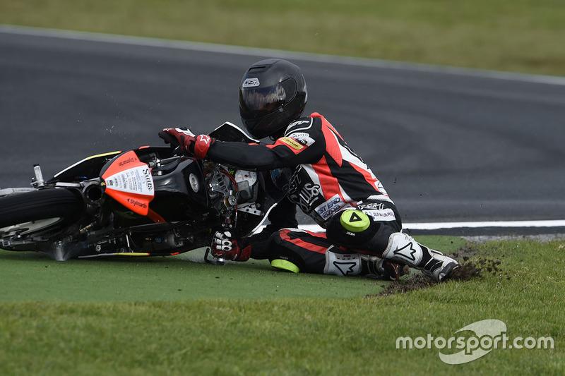 Matt Barton, Suus Honda crash