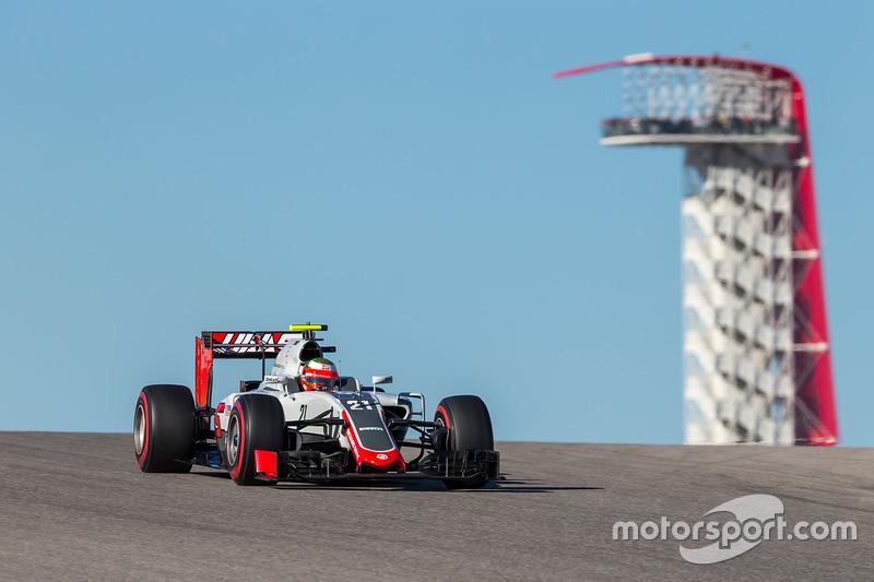 14º Esteban Gutiérrez, Haas F1 Team VF-16