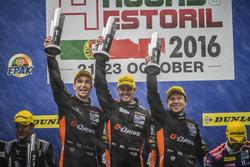 Podium: Winnaars #38 G-Drive Racing Gibson 015S-Nissan: Simon Dolan, Giedo van der Garde, Harry Tincknell