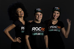 Felipe Massa with the ROC girls