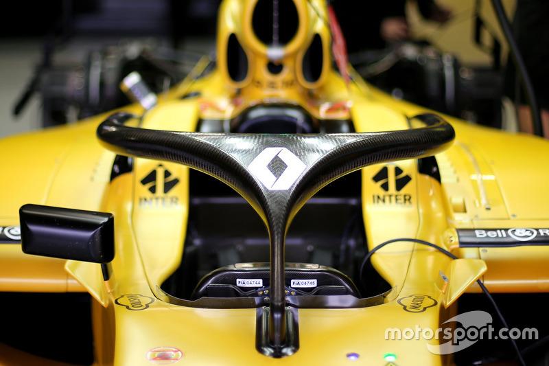 Renault F1 Team Halo ile