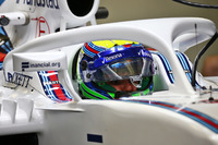 Felipe Massa, Williams FW38 con il dispositivo Halo