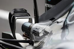 Mercedes AMG F1 W07 Hybrid egzoz