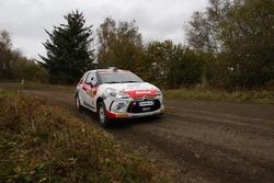 Michel Fabre, Maxime Vilmot,  Citroën DS3 R3T, SAINTELOC JUNIOR TEAM