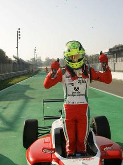 Le vainqueur Mick Schumacher, Prema Powerteam