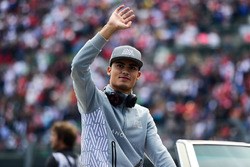 Fahrerparade: Pascal Wehrlein, Manor Racing