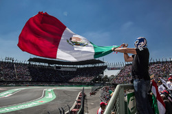 Уболівальник з прапором Мексики