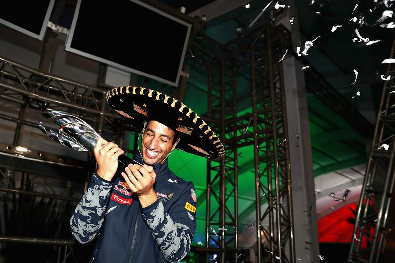 Подіум: третє місце - Даніель Ріккардо, Red Bull Racing