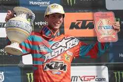 Il Campione Europeo MX125: Jorge Prado, KTM