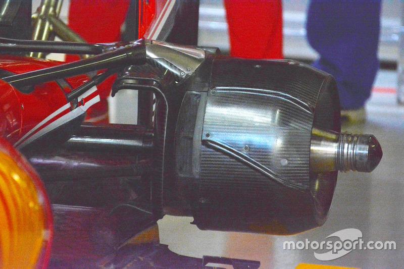 Un frein de Sebastian Vettel, Ferrari SF16-H