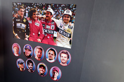 Bilder von Formel-1-Fahrern aus allen Zeiten