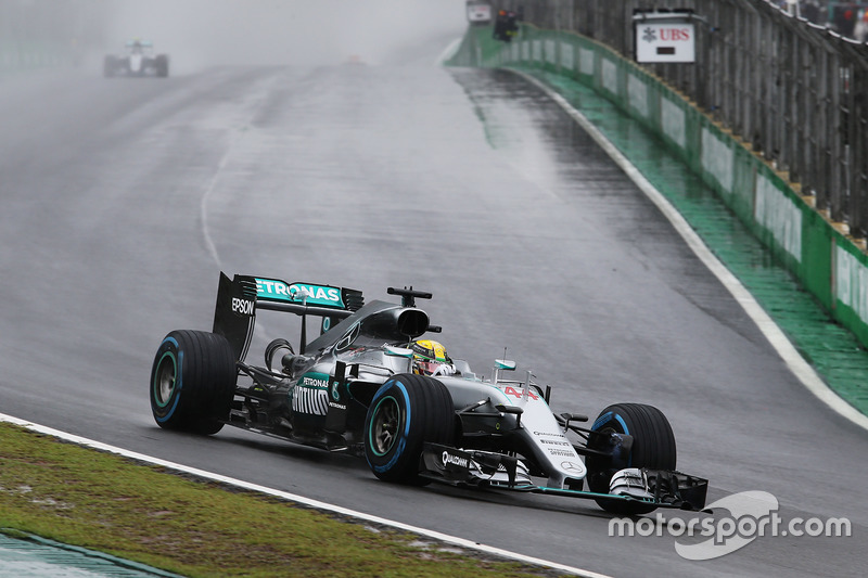 Brasilien, Sao Paulo: Lewis Hamilton (Mercedes)